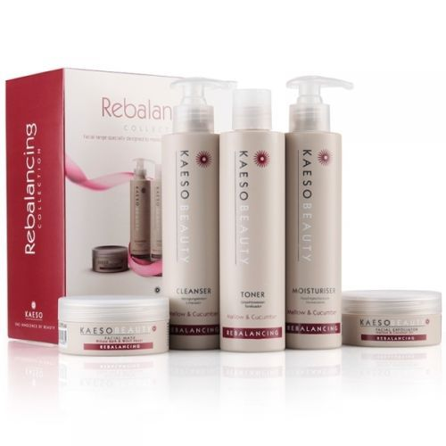 KAESO BEAUTY REBALANCING FACIAL KIT cleanser toner moisturiser sensitive skin